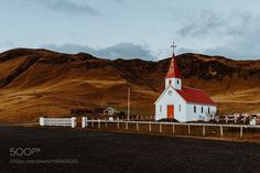 Iceland Church by HaydenScott #Landscapes #Landscapephotography #Nature #Travel #photography #pictureoftheday #photooftheday #photooftheweek #trending #trendingnow #picoftheday #picoftheweek