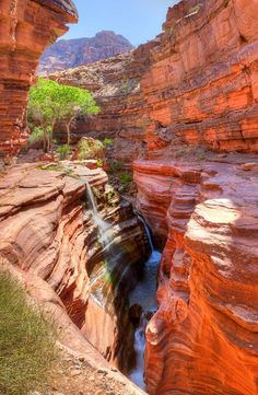 Deer Creek Canyon In Grand Canyon More