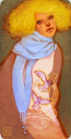 Escume Character Concept, Fantasy Art, Disney Characters, Fictional Characters, Aurora Sleeping Beauty, Disney Princess, Anna, Hair, Artworks