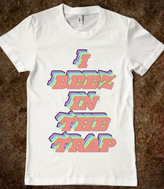 I Beez In The Trap (Nicki Minaj) #nickiminaj #hiphop #rap #music #swag #rainbow #hipster #tumblr #grunge #colorful