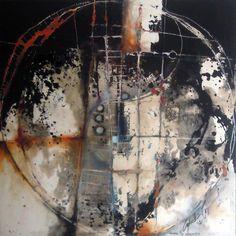 Agustin Castillo mixed media painting: Abstracts: Abstract No.420