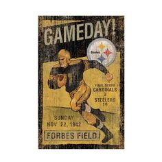 PITTSBURGH STEELERS~ WALL ART