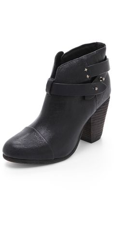 From the tents at Lincoln Center to Milk Studios downtown, these Rag & Bone booties are Hayley's go-to shoes of choice.