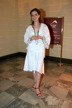 MARYSIA NIKLIŃSKA White Dress, Coat, Jackets, Shirts, Dresses, Fashion, Down Jackets, Vestidos, Moda