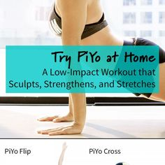 Experimenta o PiYo em casa. Um treino de baixo impacto que esculpe, fortalece e alonga.