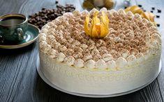 Download wallpapers big cake, tiramisu, white cream, sweets, pastries, cakes Tiramisu, Food Wallpaper, Big Cakes, Creme, Sweets, Pastries, Ethnic Recipes, Pasta, Wallpapers