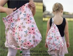 Tutorial: Bucket bag backpack