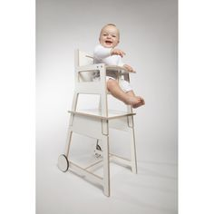 "2 in 1 Kid's High Chair ""HOKI"" - Butterfly Occasions"