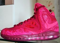 "Releasing: Nike Air Max Hyperposite ""Raspberry Red"""