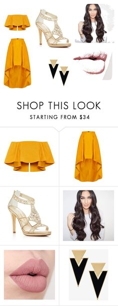 """Untitled #58"" by xoxomahjabeenxoxo on Polyvore featuring Caparros and Yves Saint Laurent"