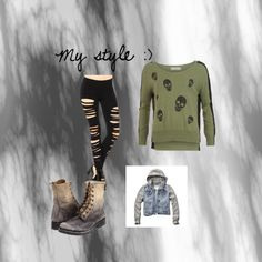 My style by ryebehrens on Polyvore featuring polyvore fashion style Forever Unique Abercrombie & Fitch Frye