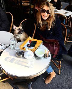 Monica Ainley in Paris