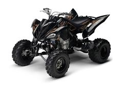Yamaha Raptor 700R this is my favorite color scheme from the factory ;)