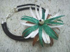 handmade silk cocoons bracelet No25