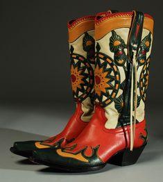 Antique Cowboy Boots Peru