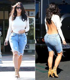 A 2015 trend. Started by Kim Kardashian. Ugh.