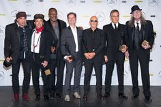 E Street Band: Welcome to the Rock and Roll Hall of Fame. Long overdue! Phantom & C: Always in our hearts!