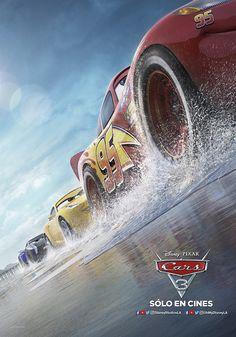 CARS 3, revelaron el elenco de voces en inglés y a los personajes principales del film, que contarán con un galardonado elenco.