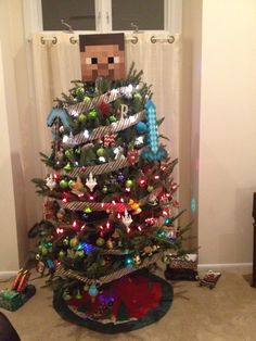 Christmas Minecraft Decorations.7 Best Minecraft Christmas Tree Images Minecraft Christmas