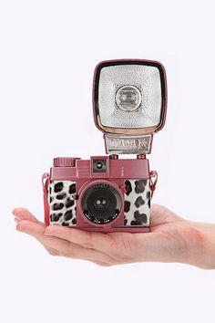 """Lomography """"Diana"""" Kleine Kamera mit Leopardenmuster"""