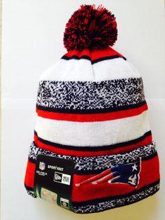 New England Patriots New Era Knit Team Beanie  NewEra  NewEnglandPatriots  New Era Logo 4a869e066