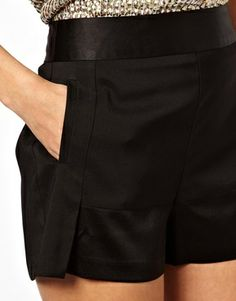 $54.45 ASOS Shorts With Satin Detail