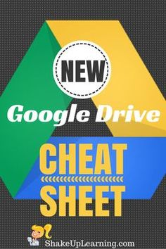 NEW Google Drive Cheat Sheet