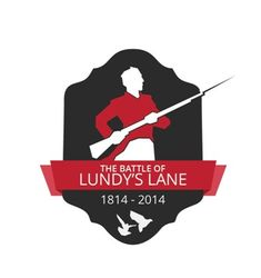Battle of Lundy's Lane 200th anniversary logo . Join the commemoration on Friday, July 25.