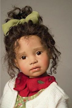 Angela Sutter, Swiss doll collection artist.