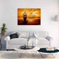 Wanddekoration Lotus OM Yoga Studio Design, Yoga Inspiration, Ayurveda, Meditation, Yoga Lifestyle, Lotus, Asana, Boho, Mudra