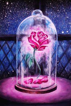 Risultati immagini per bella e la bestia rosa