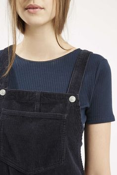 Photo 5 of MOTO Cord Pinafore Dress