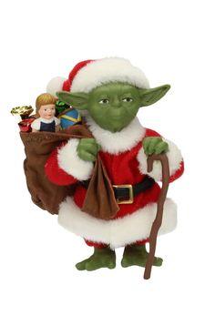 Star Wars Weihnachts-Figur Yoda Santa Claus 12 cm   Star Wars Weihnachten / Christbaumschmuck - Hadesflamme - Merchandise - Onlineshop für alles was das (Fan) Herz begehrt!