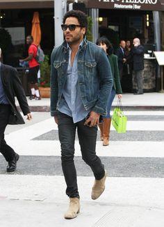 Moda Magazine - Style Icon: Lenny Kravitz