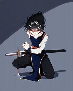 Tags: Anime, Yu Yu Hakusho, Hiei, 13knight