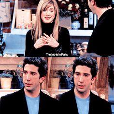 Rachel and Ross Friends Ross And Rachel, Big Friends, Friends Moments, Friends Tv Show, The Best Series Ever, Best Shows Ever, Mothers Friend, David Schwimmer, Ross Geller