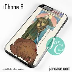 Brienne Game Of Thrones Phone case for iPhone 6 and other iPhone devices