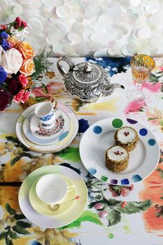 Cups & Saucers via Vogue Living Australia