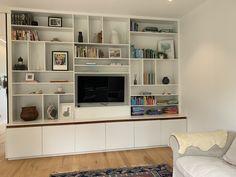 Living Room Built Ins, Bookcase, Shelves, Building, House, Home Decor, Shelving, Decoration Home, Home