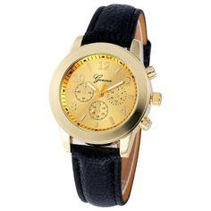 2017 Ladies Wrist Watch Women 2016 New Fashion Quartz Wrist Watch Clock Female Quartz-watch Montre Femme Relogio Feminino Casual Watches, Women's Watches, Wrist Watches, Gold Watches Women, Latest Jewellery, Watch Brands, Jewelry Trends, Jewelry Stores, Dame
