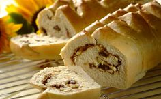 HOMEMADE BILTONG FETA BREAD - Nothing smells better in the kitchen than the wafting aroma of homemade bread! Try this recipe as a delicious compliment to your weekend braai! Meat Recipes, Baking Recipes, Biltong, South African Recipes, Protein Snacks, Savory Snacks, Fermented Foods, Kos, Gourmet