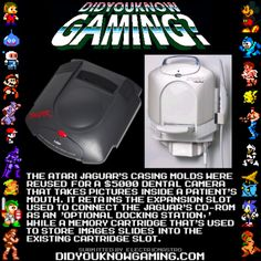 didyouknowgaming:  Atari Jaguar. Source.
