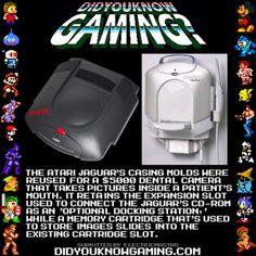 didyouknowgaming:  Atari Jaguar. Source.