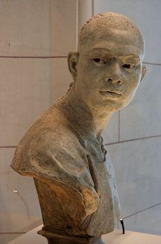 Sculpture Head, Sculptures Céramiques, Carpeaux, Art Gallery, Plastic Art, Ceramic Figures, Figurative Art, Traditional Art, New Art