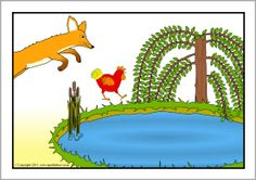 A set of printable visual aids to use with the story of 'Rosie's Walk' by Pat Hutchins. These are very useful for sequencing and oral retellings of the story and look great on classroom displays. Rosies Walk, Positional Language, Preposition Activities, Visual Aids, Classroom Displays, Retelling, Writing Prompts, Walking, Prepositions