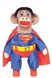 #KellysSockMonkeyMania #SuperHeroSockMonkey #SupermanSockMonkey made by 3 cheeky little monkeys Adoption Agency