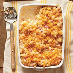 Lighten Up! Southern Classics | Baked Smokin' Macaroni and Cheese | SouthernLiving.com