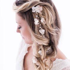 Bridget | Tiara para noivas Boho - Atelier Mercedes Alzueta
