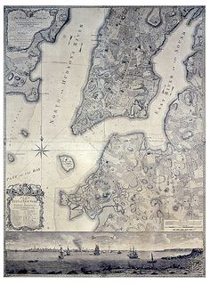 plan of the City of New York, 1770