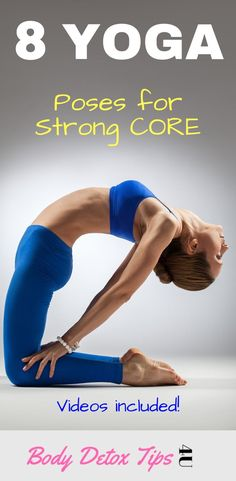 In this workout you will learn some of the best yoga poses for strong core and ABS flat belly. yoga poses for abs Quick Weight Loss Tips, Weight Loss Help, Yoga For Weight Loss, How To Lose Weight Fast, Reduce Weight, Beginner Yoga Workout, Workout For Beginners, Hata Yoga, Yoga Posen